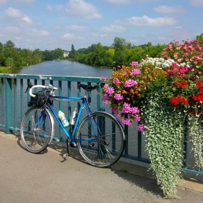 sur le pont de Morannes
