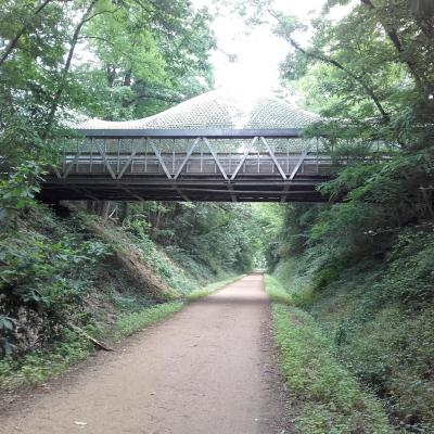 voie verte près de Terra Botanica
