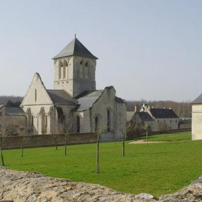 Abbaye d'Asniere à Cizay la Madeleine